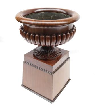 antique plant pot