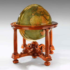 "An impressive 30"" Globe by Rand McNally, c1928. -"