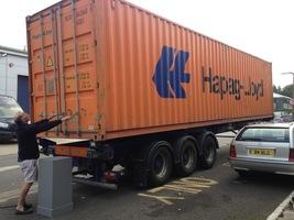 lorry orange