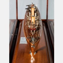 An extremely rare museum quality 19th century United States Foote Class Torpedo Boat