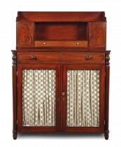 A regency mahogany Chiffonier, Gillows cupboard. c1810 -