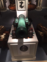 A French bronze cannon seized at the Glorious First of June.