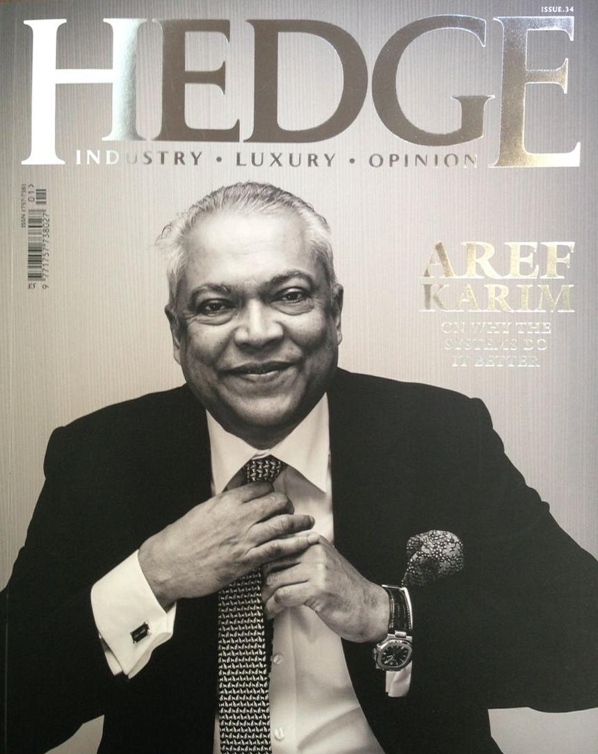 HEDGE MAGAZINE APRIL 2015 Treasure Assets, Globes