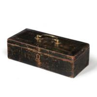 Sir Andrew Hamond's Naval documents box, Ponell, London c1794