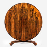 A rosewood centre table, attrib. to Gillows, c1825
