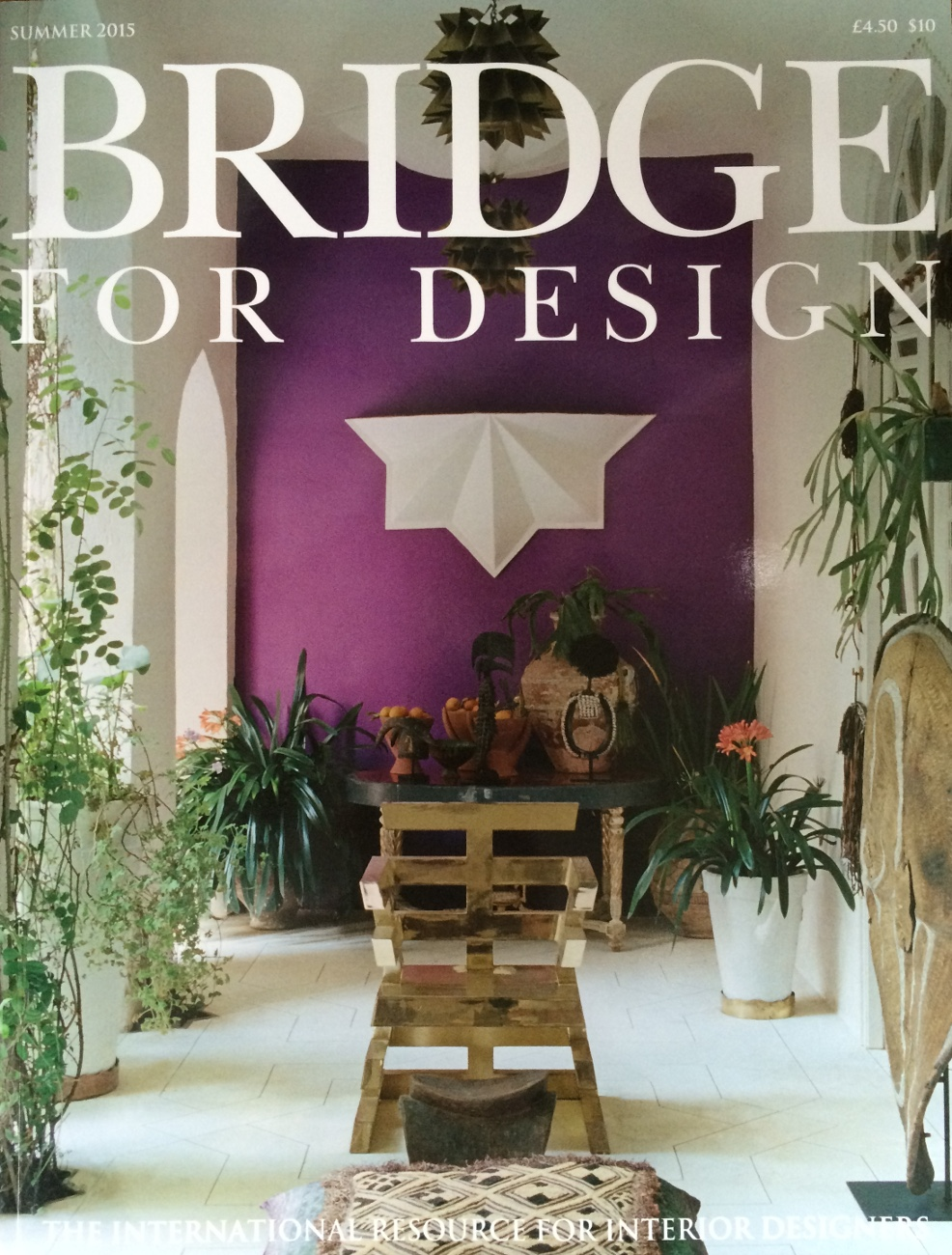 BRIDGE FOR DESIGN SUMMER 2015 Diary Arts and Antiques