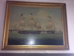 A ship's portrait by Jenkinson.