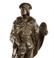 Bronze Artist by Picault, French, c1870