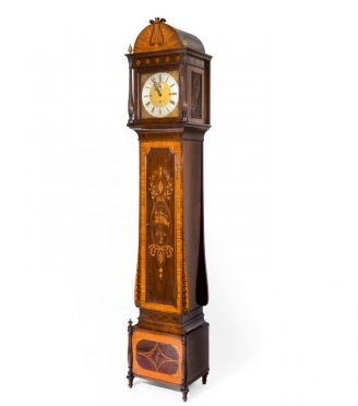 clock attributed to Maples