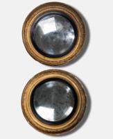 A pair of mirrors from Captain Graham Hamond HMS Blanche, Battle of Copenhagen, 1801