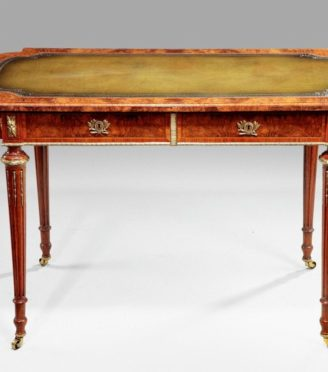 Wooden Table Front Facing