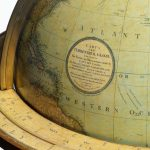 A pair of George III 21 inch globes by J&W Cary, dated 1815 and 1800 closeup globe