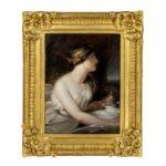 Richard Westall RA (1765–1836) Portrait of Emma, Lady Hamilton as Ariadne