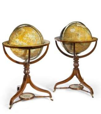 Pair smith and sons globes
