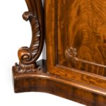 An early Victorian two-door mahogany side cabinet, attributed to Gillow details