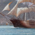 The Challenger Arrives off Kowloon Hong Kong, 23 May 1856, Rodney Charman