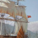 The Challenger Arrives off Kowloon Hong Kong, 23 May 1856, by Rodney Charman