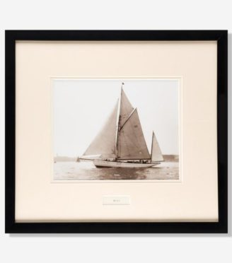 An original gelatin print by Beken of Cowes of the Gaff rigged ketch ROSE