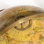 A pair of Cary's 15-inch table globes top