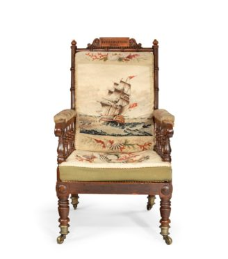 Captain Pryce Cumby's Bellerophon chair
