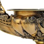 King William IV 46 's cup for the Royal Yacht Squadron, 1835 gold side view