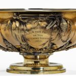 King William IV 46 's cup for the Royal Yacht Squadron inscribed