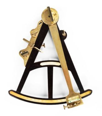 A William IV navigational octant