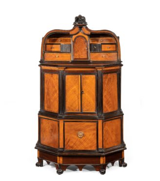 A rare and unusual Indian cupboard made for the Dutch or English market main