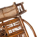 Chinese Export 'Brighton Pavilion' day bed details