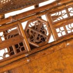 Chinese Export 'Brighton Pavilion' day bed detail 1
