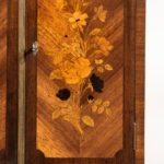 A French rosewood wall cabinet by G Durand close up