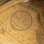 A 12 inch Franklin globe by Nims & Co, New York