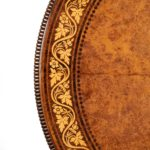 A George IV tilt-top centre table by George Bullock detail side