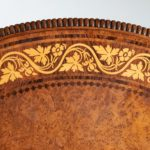 A George IV tilt-top centre table by George Bullock detail pattern