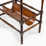 An usual pair of Regency rosewood side tables, firmly attributed to Gillows of Lancaster concave
