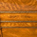 pair of Victorian satinwood display cabinets