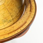 George IV 18-inch floor-standing library globe by John Smith rim