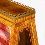 French double-sided display cabinet by François Linke Front top