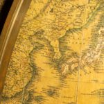 A large and extremely rare 24-inch terrestrial globe by Newton