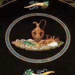A Regency specimen marble centre table detail