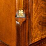 A good quality Regency 'Egyptian style' mahogany longcase clock by John Grant side