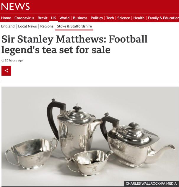 BBC Sir Stanley Matthews