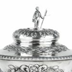 The Shannon Yacht Club silver racing trophy for 1859 top