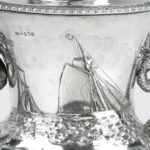The Shannon Yacht Club silver racing trophy for 1859 details