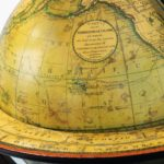 A rare pair of 9 inch table globes by Cary