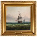 Thomas Whitcombe: 'Flora', this oil on canvas