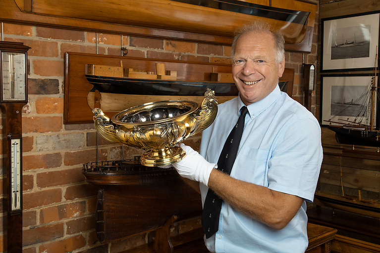 Missing King's Cup Won in 1835 By Cove's John Barry-Smith of Cork Harbour is Discovered