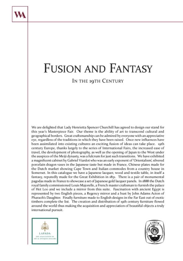 Fusion and Fantasy
